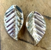 Sterling-silver-leaf-earrings-by-Amanda-Randall